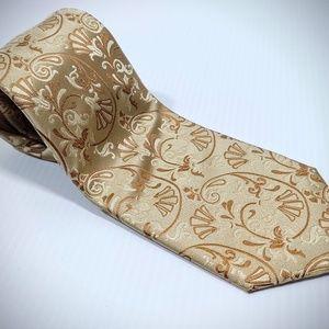 Roberto villini couture Paisley neck tie